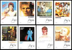 thumbnail link to original David Bowie EMI withdrawn 1990 promo poster set .