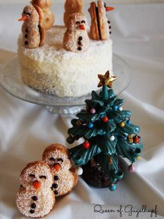 Macarons, Snowman, Charlotte, Queen, Recipe, Cake, Desserts, Christmas, Crafts