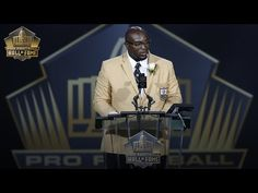 Will Shields' 2015 Pro Football Hall of Fame speech