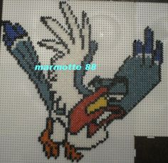 Zazu The Lion King hama perler by marmotte88130