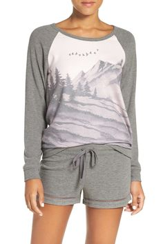 Landscape Graphic Long Sleeve Tee