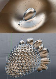 3D Mousse Batavo by Henrique Cassab, via Behance