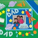 Dad photo frame craft kit. Father's Day crafts.