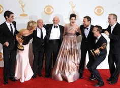 Breaking Bad cast | Emmy Awards | 2013 | laugh | color | ram2013