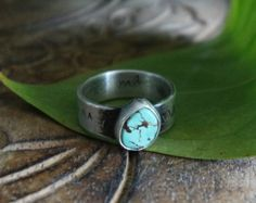 Browse unique items from NeshikotJewelry on Etsy, a global marketplace of handmade, https://www.etsy.com/shop/neshikotjewelry  #handmade #turquoise #americantirquoise #daintyring #sterlingsilverjewelry #tirquoiseoverdoamonds #arizonaturquoise #neshikotjewelry #handcraftedjewelry