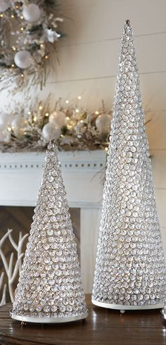 Crystal Cone Trees with Plates