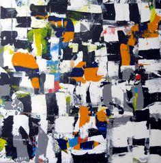 """Saatchi Art Artist: robert tavani; Acrylic 2013 Painting """"Pass"""""""