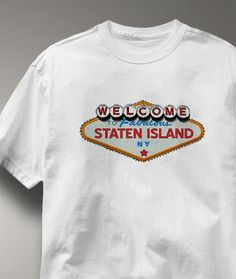 Cool Staten Island New York NY Shirt from Greatcitees.com