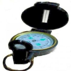 Engineer Lensatic Folding Compass  Glows in the dark  Free Shipping  Surveyor  Hunting  Outdoors