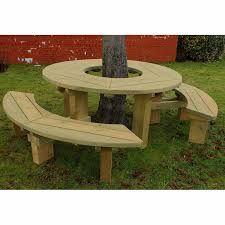 Ideas para hacer mesa alrededor de un arbol en el jardin - Ideas para un jardin ...