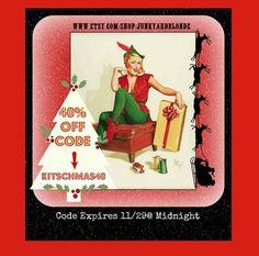 Merry Kitschmas by Terri on Etsy