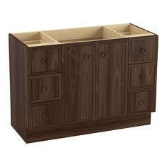 KOHLER 99509-TK-1WE Jacquard 48-Inch Vanity with Toe Kick, 2 Doors and 6 Drawers, Terry Walnut Design with a Vision - Yours The Jacquard vanity is just the beginning of your custom bathroom.  Read more http://cosmeticcastle.net/kohler-99509-tk-1we-jacquard-48-inch-vanity-with-toe-kick-2-doors-and-6-drawers-terry-walnut/  Visit http://cosmeticcastle.net to read cosmetic reviews