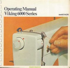 Includes: Threading the top thread. Changing the needle. Husqvarna Sewing Machine, Viking Sewing Machine, Sewing Machine Quilting, Sewing Stitches, Sewing Hacks, Sewing Ideas, Sewing Tips, Sewing Patterns, Sew Kind Of Wonderful
