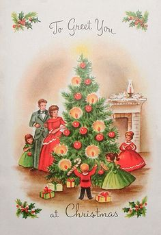 Earth alone earthrise book 1 vintage christmas merry and vintage family round the tree christmas card peach glow m4hsunfo