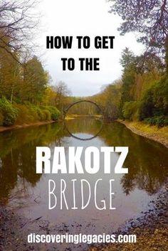 How to get to the Rakotzbridge from Leipzig/Dresden? Wie gelangt man am besten zur Rakotzbrücke von Leipzig/Dresden?