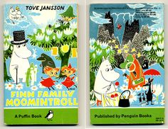 Moomin: Moomin books.