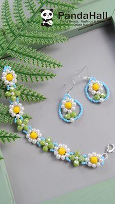 Diy Bracelets Patterns, Diy Bracelets Easy, Beaded Bracelet Patterns, Beaded Bracelets Tutorial, Diy Crafts Jewelry, Bracelet Crafts, Bead Crafts, Diy Jewelry Videos, Seed Bead Jewelry