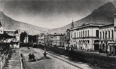 Old Pictures, Old Photos, Vintage Photos, Cities In Africa, Cape Colony, Most Beautiful Cities, Historical Pictures, African History, Cape Town