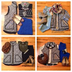 Herringbone vest, fall styles how to wear it now Fall Winter Outfits, Autumn Winter Fashion, Vest Outfits, Cute Outfits, Preppy Style, Style Me, Mommy Style, J Crew, Herringbone Vest