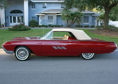 All American Сlassic Сars — 1963 Ford Thunderbird 2-Door Convertible Sports...