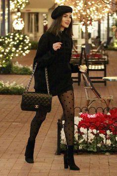 On Sunday, Olivia Culpo steps out to go shopping in Los Angeles. On Sunday, Olivia Culpo steps out to go shopping in Los Angeles. On Sunday, Olivia Culpo steps out to go shopping in Los Angeles. Look Fashion, Winter Fashion, Womens Fashion, Skirt Fashion, Classy Fashion, Fashion Dresses, Maxi Dresses, Modern Fashion Outfits, All Black Fashion