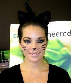 diy halloween makeup halloween makeup the cat - Halloween Makeup For Cat Face