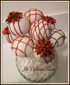 Fall Flower Power Cake Pops by jillssweettreats on Etsy, $28.00