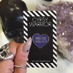 Witchy woman  Score some NEW exclusive Gypsy Warrior pins & patches! #gypsywarrior by gypsywarrior