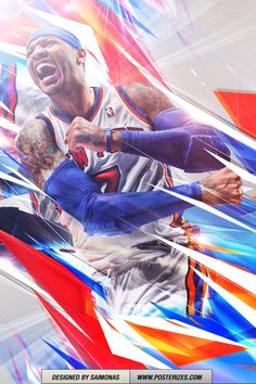 NB Carmelo Anthony Iphone/Ipod Wallpaper