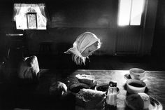 Helen Dyck - LaBatea Colony, Zacatecas, Mexico. 1992 Photo by Canadian Magnum photographer Larry Towel.