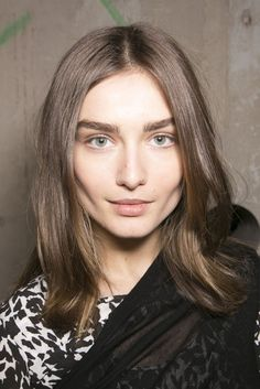 Natural makeup at Isabel Marant. See more top looks from #PFW here: