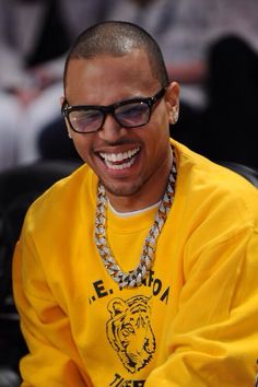Chris brown and his perfect teeth