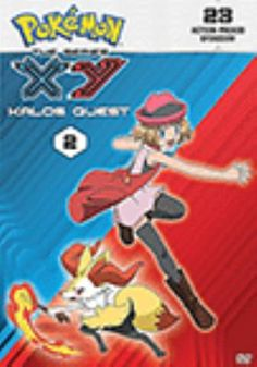 Cover image for Pokémon XY the series. Kalos quest, Set 2 [videorecording (DVD)]