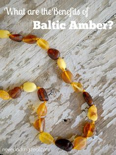 what are the benefits of baltic amber