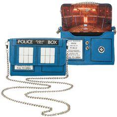 Doctor Who TARDIS Crossbody Bag