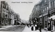 Old Worthing. Worthing, Old Photos, Brighton, Castle, England, Street View, History, Places, Pictures
