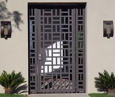 CONTEMPORARY-METAL-GATE-PANELS-STEEL-WROUGHT-IRON-CUSTOM-DESIGNER-GARDEN-ENTRY