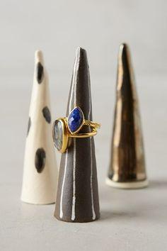 Ceramic Ring Cone - anthropologie.com #anthroregistry