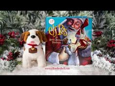 Santa's Saint Bernard pups are here! Learn more about the tradition and how you can adopt your own Elf Pets Saint Bernard at ElfontheShelf.com! | Elf on the Shelf Ideas | Christmas 2016