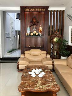 Home Altar Design For Living Room - Home Ideas Pooja Room Design, Room Door Design, House Design, Design Design, Design Ideas, Home Altar Catholic, Asian Living Rooms, Living Room Designs, Living Room Decor