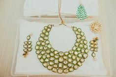 Polki jewelry | Neetal & Saumil's Intimate, Chic Indian Wedding {California} - Gallery - TheBigFatIndianWedding.com
