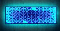Leuchtbild 35x98cm – SELBST GESTALTEN! – MOTIF LIGHTS Led Licht, Remote, Lights
