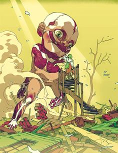 Attack on Titan by Tomer Hanuka *