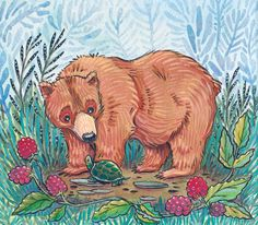 June Bear  by Candace Camling