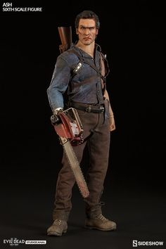 Evil Dead II Ash Williams Sixth Scale Figure by Sideshow Col | Sideshow Collectibles