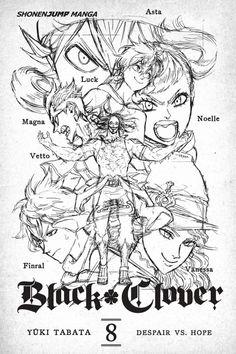 Read Black Clover Manga, Black Clover Anime, Tabata, Manga Art, Manga Anime, Anime Drawings Sketches, Black Cover, Manga Pages, Black Butler
