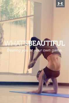 What's Beautiful.  Beating you at your own game. #whatsbeautiful @Joanne Hunter Matthews Armour Women