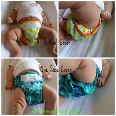 Tidy Tots Hemp Cloth Diaper System #newbaby #gogreen #nontoxic #reusables