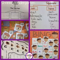 "We have been NUTS about fall for the past few weeks. Here are some pictures of what we have been nutty about. We have been writing about fall like with the ""Write Me Three"" tree page. We charted squirrels with a can/have/are chart. I love ""picking the brains"" of my students to learn what they …"