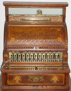 Antique Cash Registers, Beautiful machine.